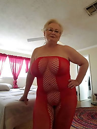 Naughtiest older female is baring it all on cam