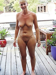 Erotic older chick seems exposed