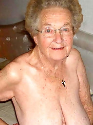 Grannies and matures in the shower
