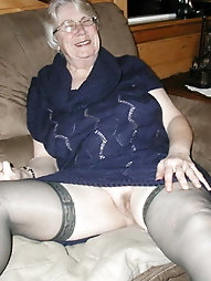 Granny whore Kathie is a meaty fuckdoll