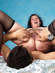 Sensuous older hellcat wants to play with vibrator