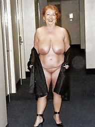 Immoral experienced granny gets ready for sex