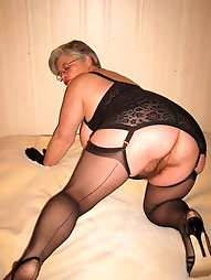 Horny Grannys In Stockings 71