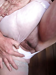 Naughty granny shows all