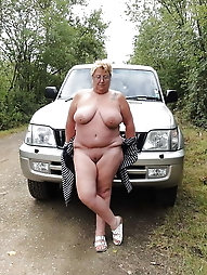 Naughty grannies and their cars