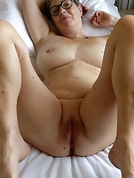 Young-looking mature gilfs are fingering their dripping vagina