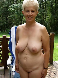 Sexy-shaped older babes like nudism very much