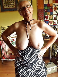 Extravagant aged women are revealing their titties