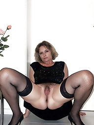 Skillful older mistresses are baring it all on cam