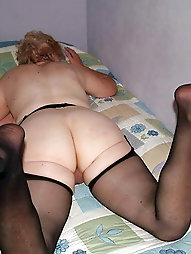 Granny Pussy and Arse to smell and lick 3