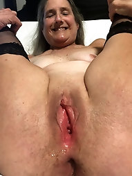 Shaved, Spread, Fucked, Doggy, creampie