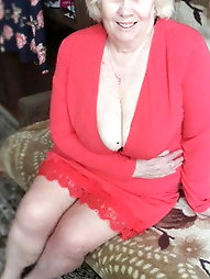 Busty granny cleavage heaven 7