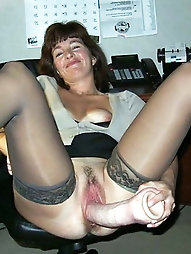 Lusty aged milfs are fingering themselves