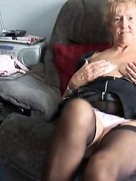 Chubby mature women seem excited